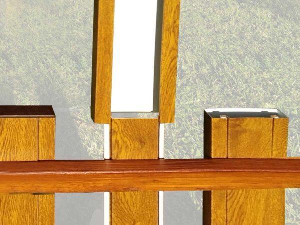 montáž plotovky, ploty bez natírání