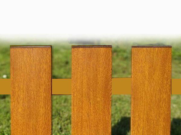 plotovka, ploty bez natírání